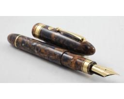 Armando Simoni Club Ogiva Extra Blue Saffron Magic Flex Nib Fountain Pen