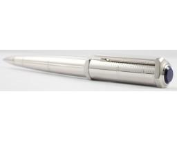 Cartier Santos OP000090 Dumont Rivet Motif In Metal With Palladium Finish Ball Pen