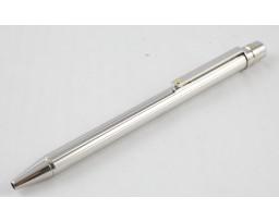 Cartier OP000087 Santos SM Godrons Decor Palladium & Gold Finish Ball Pen