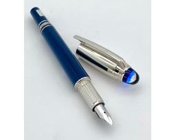 Montblanc MB125272 StarWalker Blue Planet Doue Fountain Pen