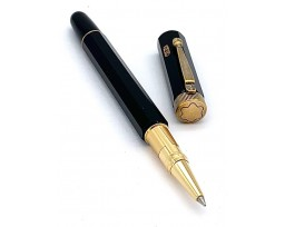 Montblanc MB125493 Heritage Egyptomania Special Edition Black Rollerball Pen