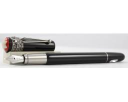 Montblanc MB.117846 Special Edition Heritage Rouge Et Noir Methamorphosis Black Fountain Pen