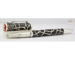Montblanc MB.117850 Heritage Rouge et Noir Spider Metamorphosis Limited Edition 1906 Roller Ball Pen