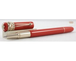 Montblanc MB.118233 Special Edition Heritage Rouge and Noir Spider Methamorphosis Coral Roller Ball Pen