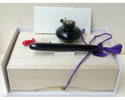 Namiki Emperor Size Black Urushi Fountain Pen