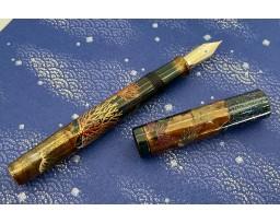 Namiki Limited Edition 2021 Emperor Coral Maki-e Fountain Pen