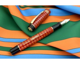 Parker Special Edition Duofold 100th Anniversary Big Red Fountain Pen