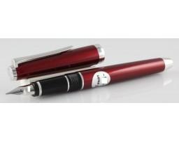Pilot Falcon Red Metal Fountain Pen