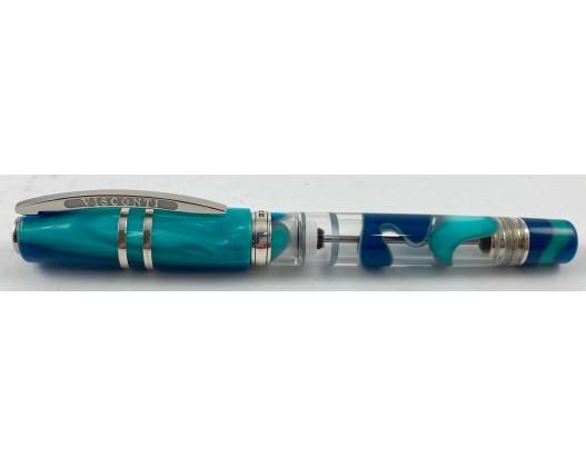 Visconti Homo Sapiens Limited Edition Blue Lagoon Fountain Pen