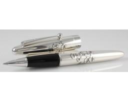 Namiki Sterling Silver Plumtree Roller Ball Pen