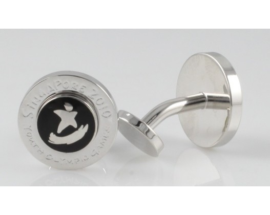 Pilot Limited Edition Capless Singapore Youth Olympic Games Fountain Pen and Cufflink set