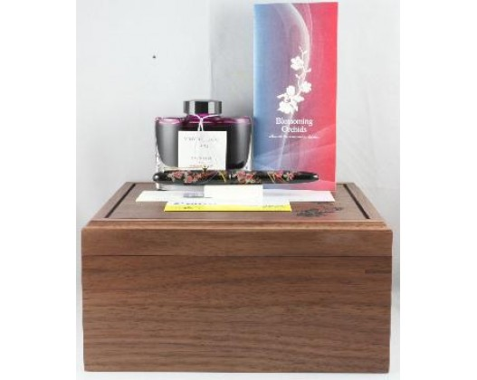 Pilot Commemorative Edition Singapore 2010 Youth Olympic Games Maki-e Blossoming Orchids Fountain Pen