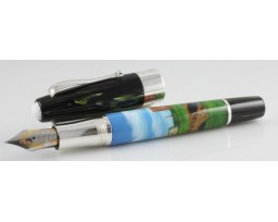 Montegrappa Limited Edition ST Andrews Painted Fountain Pen