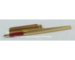 Sailor Chalana Gold Barley Red Fountain Pen