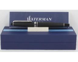 Waterman Expert III Matt Black Chrome Trim Roller Ball Pen