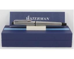 Waterman Expert III Stainless Steel Chrome Trim Roller Ball Pen