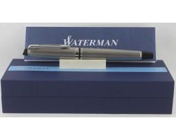 Waterman Expert III Stainless Steel Chrome Trim Fountain Pen