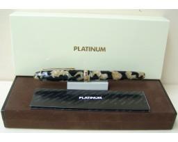 Platinum Celluloid Pearl Black Fountain Pen