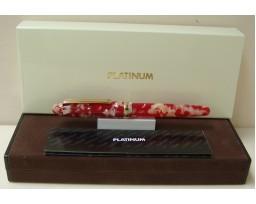 Platinum Celluloid Koi Fountain Pen