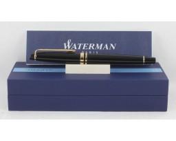 Waterman Expert III Black Gold Trim Roller Ball Pen