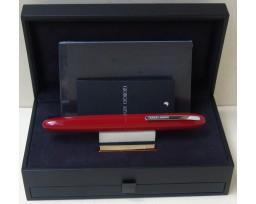 Giorgio Armani Montenapoleone Red with Chrome Trim Ball Pen