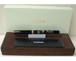 Platinum Slim Maki-e Crane and Mt Fuji Fountain Pen