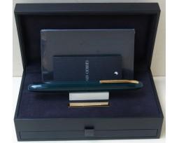 Giorgio Armani Montenapoleone Green with Gold Plated Trim Ball Pen