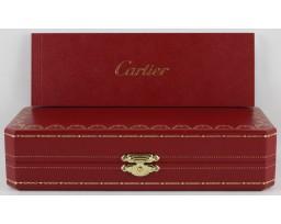 Cartier ST180011 Diabolo black Composite Platinum Finish Roller Ball Pen