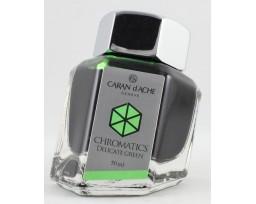 Caran d'Ache Chromatics Delicaten Green Ink