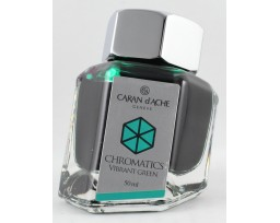 Caran d'Ache Chromatics Vibrant Green Ink