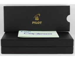 Pilot Capless Yellow Rhodium Ball Pen