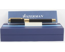 Waterman Perspective Black Gold Trim Fountain Pen