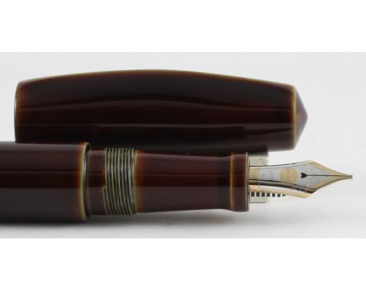 Nakaya Dorsal Fin Ver. I Heki Tamenuri Fountain Pen