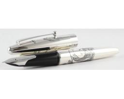 Pilot Sterling Silver Panda Fountain Pen