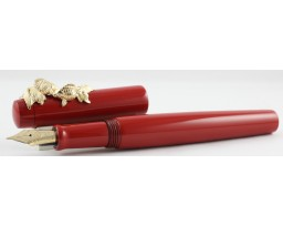 Nakaya Neo Standard Shu with Goldfish Stopper Fountain Pen