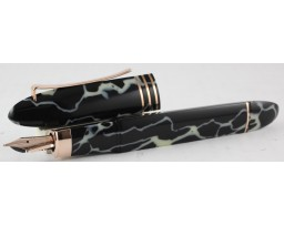 Omas Limited Edition 360 Vintage 2014 Wild Celluloid Rose Gold Trim Fountain Pen