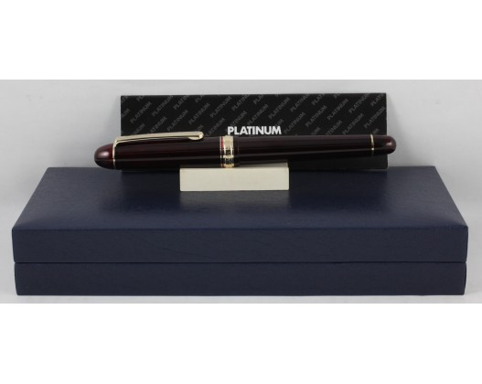 Platinum 3776 Century Bourgogne Fountain Pen (Music Nib)
