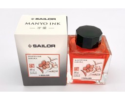 Sailor Manyo Ink Bottle 50ml - Sakura