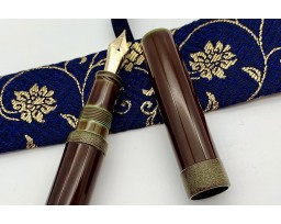 Nakaya Piccolo Long Heki-Tamenuri String-Rolled Model Fountain Pen