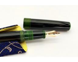 Nakaya Piccolo Long Midori-Tamenuri String-Rolled Model Fountain Pen