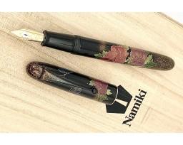 Namiki Yukari Royale Peony & Butterfly Fountain Pen