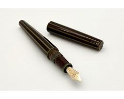 Nakaya Decapod Cigar Heki-Tamenuri (ST) Fountain Pen