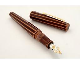 Nakaya Decapod Writer Twist Toki-Tamenuri Fountain Pen