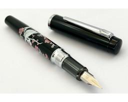 Platinum Limited Edition Procyon Brush Warbler on Plum Tree Maki-e Fountain Pen