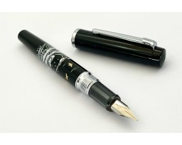 Platinum Limited Edition Procyon Plover on the Wave Maki-e Fountain Pen