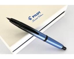 Pilot Limited Edition 2021 Capless (Vanishing Point) Black Ice Fountain Pen